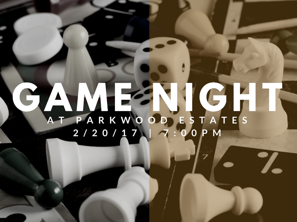 Parkwood Estates Game Night